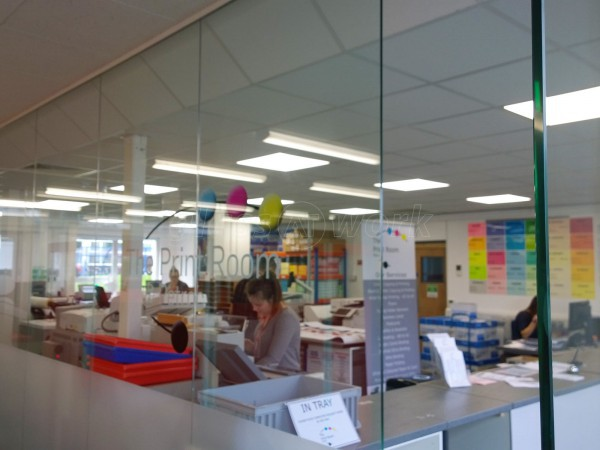 Petroc College (Barnstaple, North Devon): Glass Office Partitions