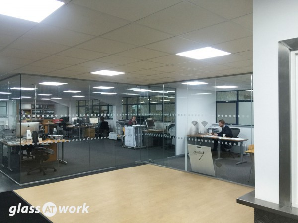 Dlinexsign Ltd (Brackley, Northamptonshire): Glass Office Partitioning