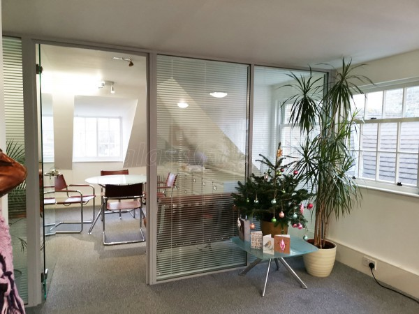 S J Kilshaw Partners Ltd (Cambridge, Cambridgeshire): Double Glazed Glass Partition Wall With Integral Blinds
