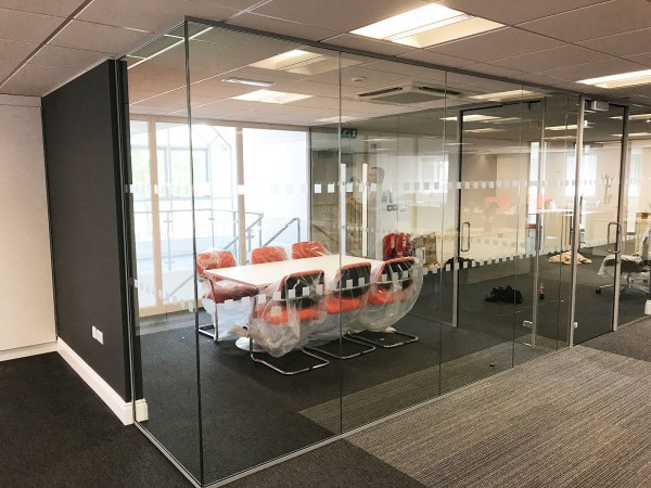 Billinghurst George & Partners (Stockton-on-Tees, County Durham): Glass Partitions For Office Refit