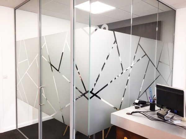 Identity Group (Westham, East Sussex): Laminated Acoustic Partition With Framed Doors