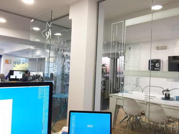 Nexus 24 Ltd (Edinburgh, Scotland): Glass Office Partitions To Create Twin Glazed Offices