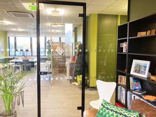 Efeca (Bournemouth, Dorset): Acoustic Glazed Office Screen With Soundproofing