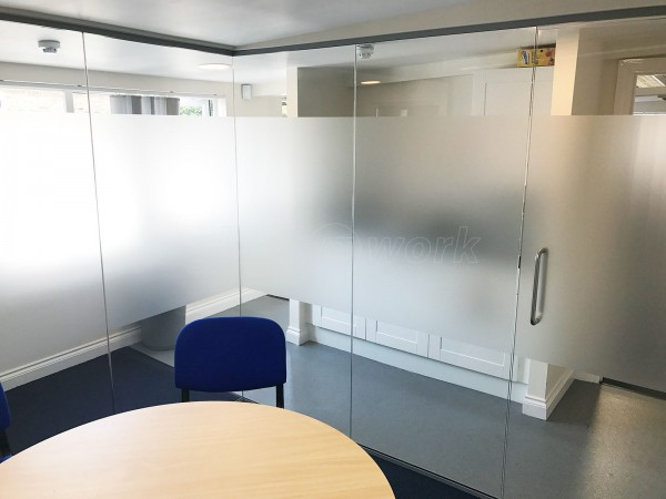 Aston Group (Romford, Essex): Glass Corner Room Partition