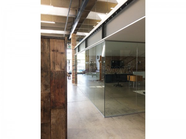 Baines Group (Leigh on Sea, Essex): Glass Office Walls For Industrial Building