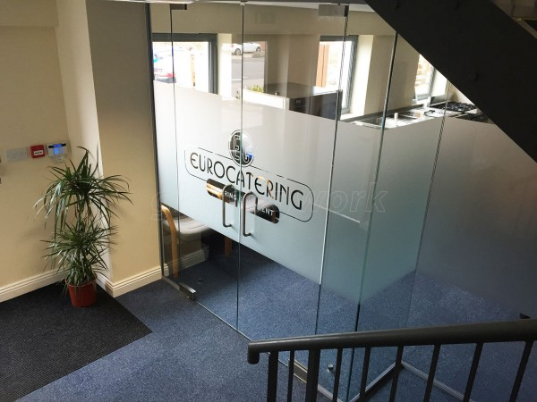 Euro Catering Equipment Ltd (Daventry): Office Partitioning