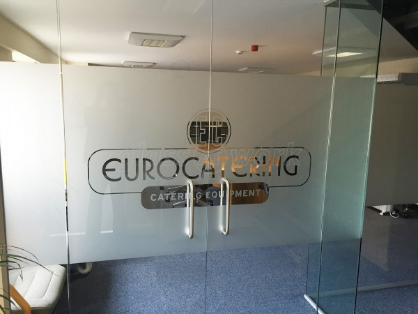 Euro Catering Equipment Ltd (Daventry, Northamptonshire): Office Partitioning