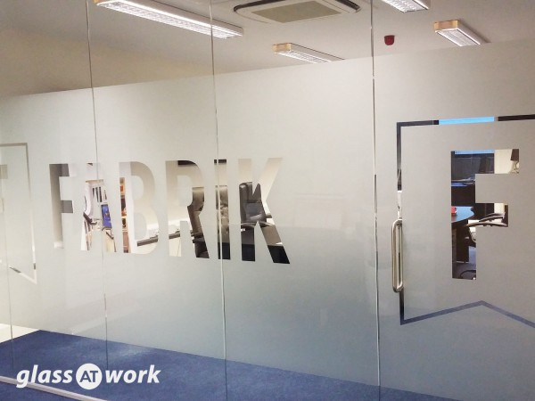 Fabrik (Benfleet, Essex): Glass Office Partitioning