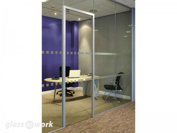 30/00 to 30/30 Fire Rated Frameless Glass Partitioning