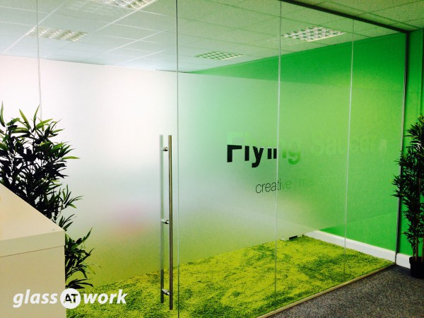 Flying Saucer Creative (Norwich): Glass Meeting Room