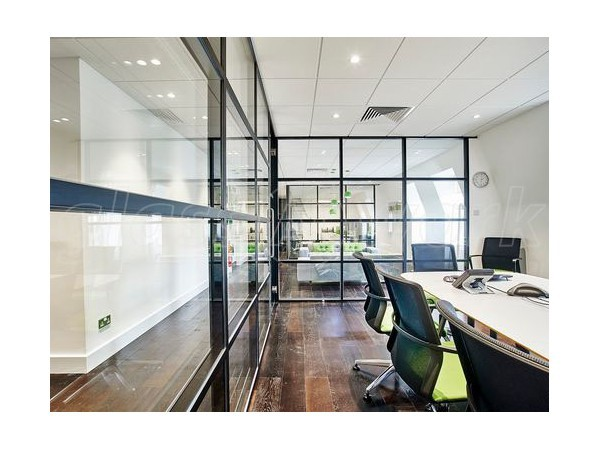 T-Bar Double Glazed Industrial Style Interior Glass Partitions