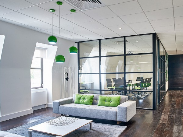 Single Glazed Office Partitioning