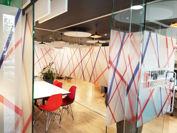 Financial Recoveries Ltd (Epsom, Surrey): Office Glass Partitions