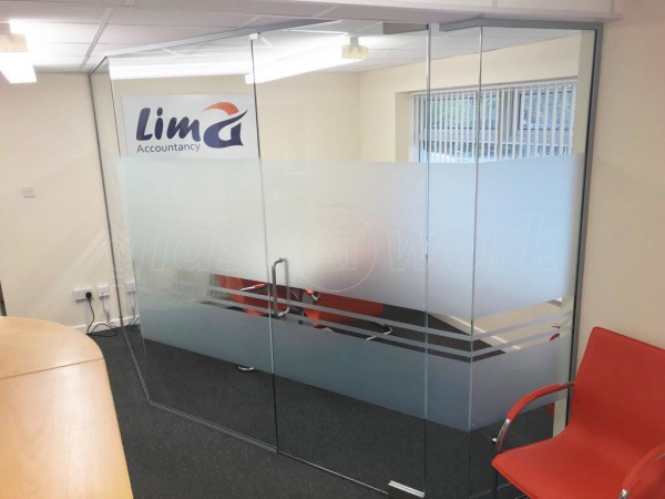 Lima Accountancy Services Ltd (Morley, Leeds): Glass Walled Corner Room