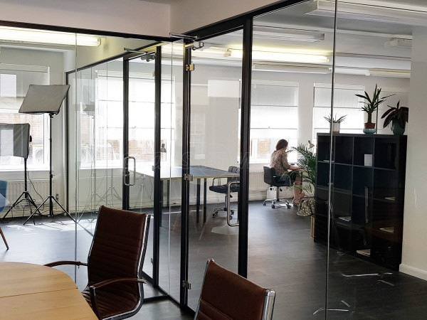 Radfield Home Care Franchising Ltd (Shrewsbury, Shropshire): Two New Toughened Safety Glass Offices With Black Framed Doors