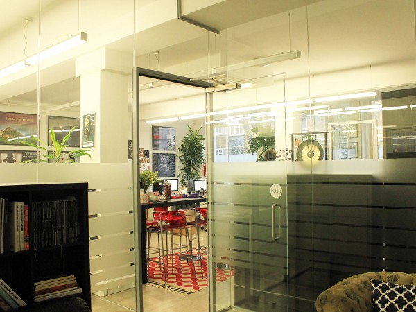 Dogwoof Ltd (Islington, London): Glass Office Partition Walls With Soundproofing