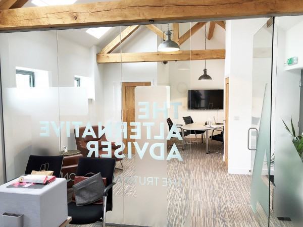 Thrive (Keyworth, Nottingham): Glass Office Wall And Door
