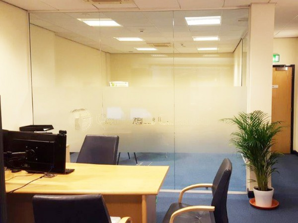 Cornwells Chemists Limited (Newcastle-under-Lyme): Glass Partitioning