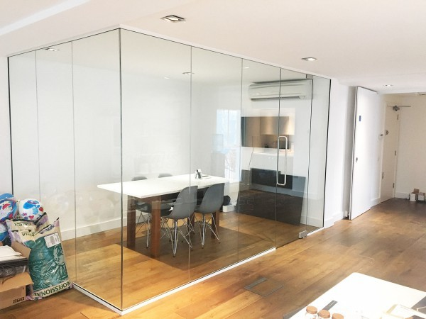 Waterworks (London, SW6): Glass Corner Room And Office Partition