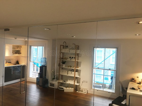 Waterworks (Fulham, London): Glass Corner Room And Office Partition