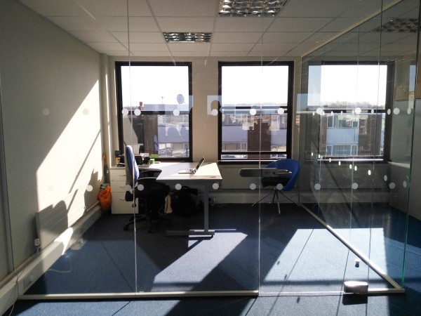 Shelley Capitol Management (Borehamwood, Hertfordshire): Glazed Corner Room and In-line Wall