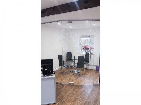 Burtons Solicitors (Tunbridge Wells, Kent): Glazed Corner Room With Angled Section