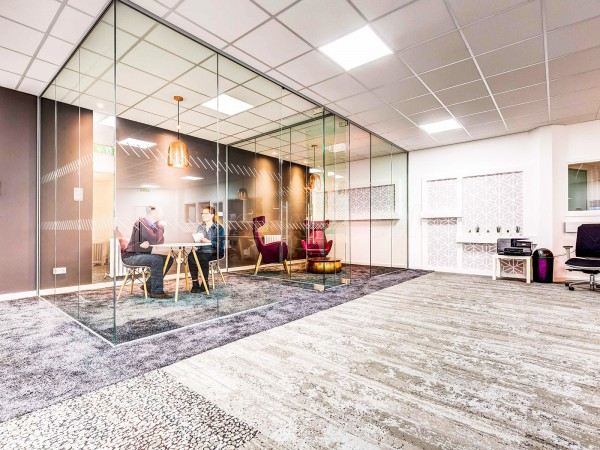 Croft Myl (Halifax): Glass Partition With Glass Double Doors