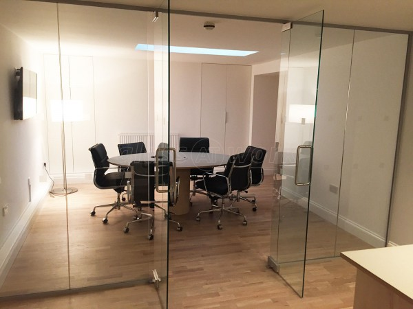 Swedbrand Ltd (Camden, London): Glass Double Doors And Partition