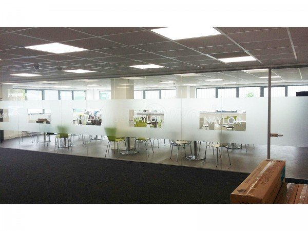 Naylor Industries Plc (Barnsley, South Yorkshire): Glass Partition Walls