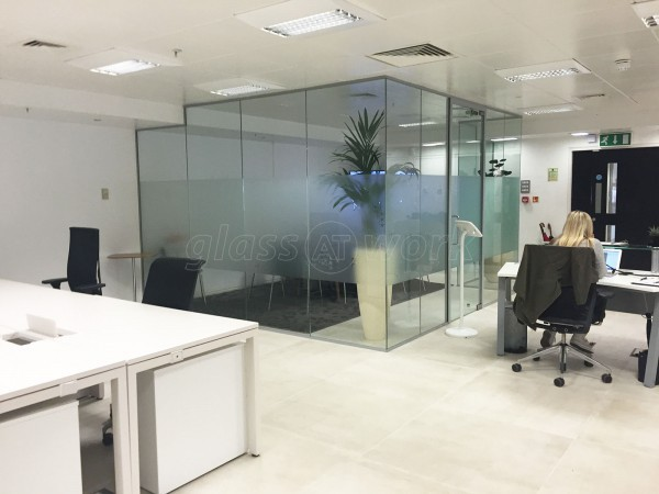 Ayima Ltd (London): Acoustic Glass Partitioning