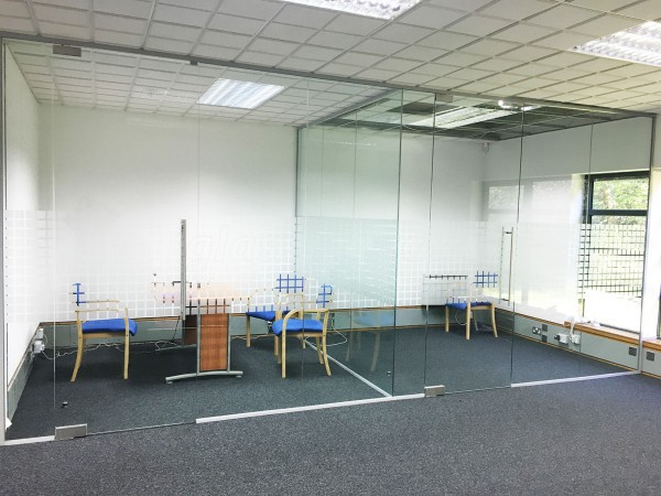 Park Gate Mortgage & Protection Ltd (Fareham, Hampshire): Glass Office Partitions and Open Ended Glass Wall