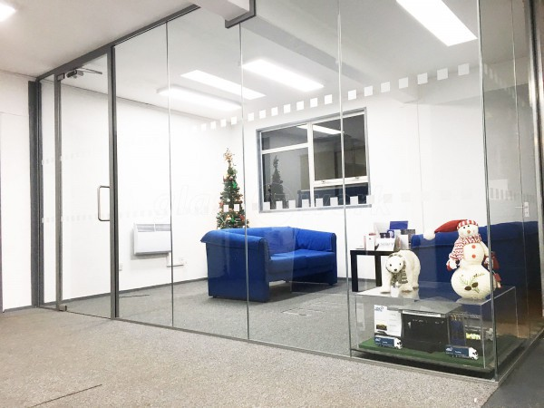 Star Events Ltd (Bedford): Office Glass Partitions