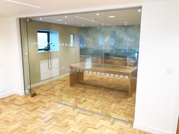 GMC Building Contractors Ltd (Northumberland): Interior Glass Walls and Doors
