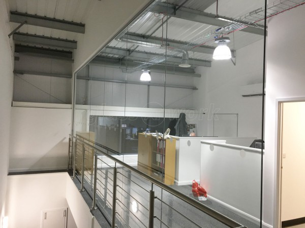 ABA Engineering (Sevenoaks, Kent): Glass Office Wall