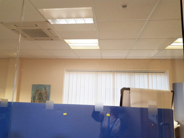 Kent Enterprise Trust (Herne Bay, Kent): Glass Office Walls and Door
