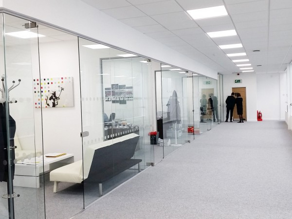 Peak & Pennine Properties Ltd (Nottingham): Frameless Glass Partitions