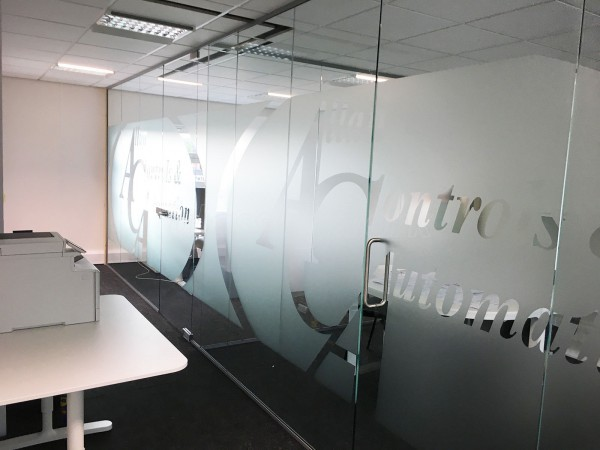 Allan Controls Automation Ltd (Allerton, Liverpool): Glass Office Partitioning