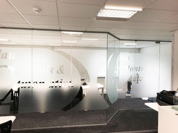 Allan Controls Automation Ltd (Liverpool, Merseyside): Glass Office Partitioning