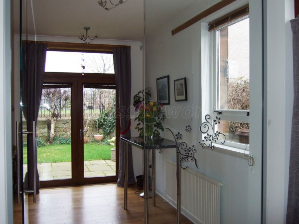 Domestic Project (Musselburgh, East Lothian): Glass Partition