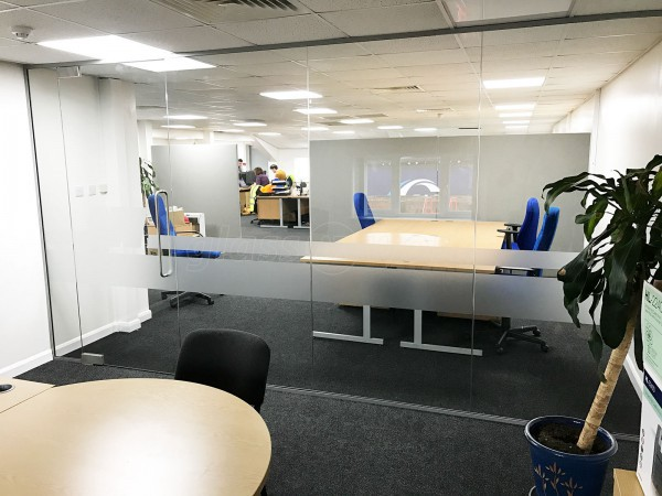 QV Foods Group (Spalding, Lincolnshire): Glass Office Partitions