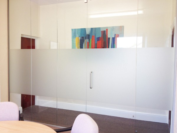 Symphony Financial Advisers (Brighouse, West Yorkshire): Glass Partition and Glass Door
