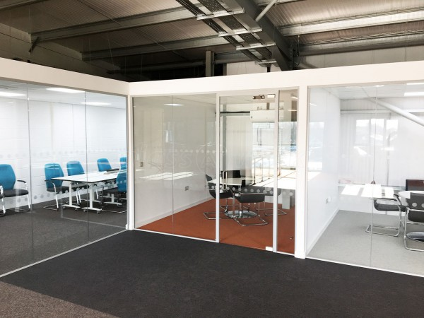 People HR (Epworth, Doncaster): Multiple Glass Office Partitions