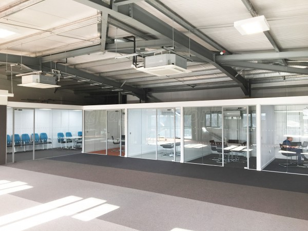 People HR (Epworth, Lincolnshire): Multiple Glass Office Partitions