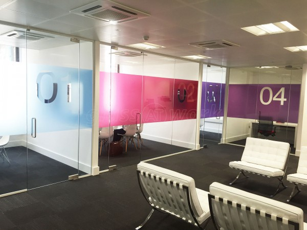 Togel Contractors Ltd (Leeds): Glass Partition Walls With Doors