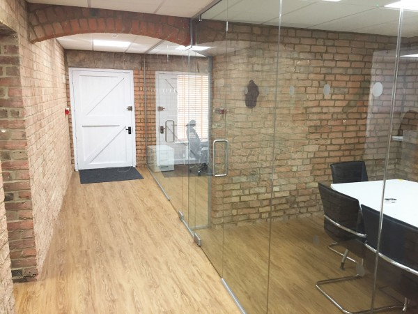 Red Zebra Software (Buckinghamshire): Glass Office Partitions