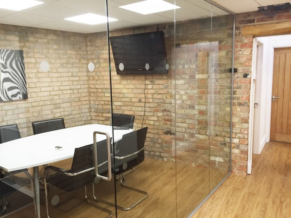 Red Zebra Software (Waddesdon, Buckinghamshire): Glass Office Partitions