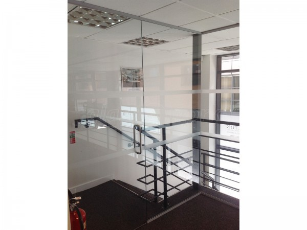 E S Walton (Ropewalks, Liverpool): Glass Office Partitioning