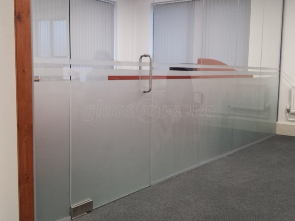 EXA Networks (Bradford, West Yorkshire): Glass Partitions