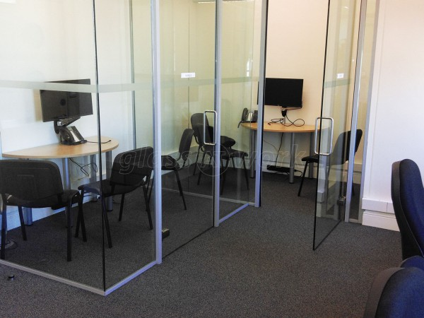 Westbrook International Ltd (Westminster, London): Glass Partition Rooms
