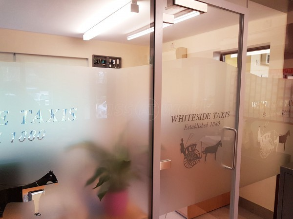 Whiteside Taxis (Lytham St Annes, Lancashire): Glass Partitioning For Soundproofing